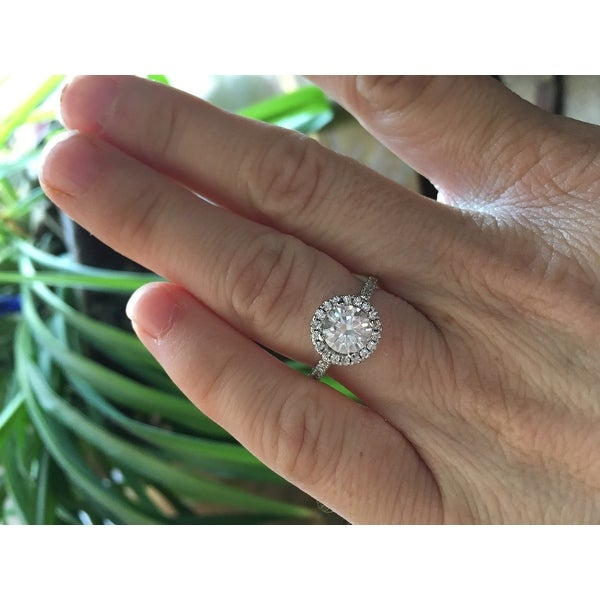 Top Product Reviews for Moissanite by Charles & Colvard 14k