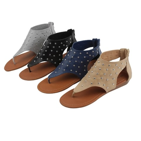 Star Walker Star Studded Sandals In 4 Beautiful Colors