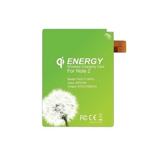 Offex Qi Wireless Charging Energy Card for Samsung Galaxy Note 2