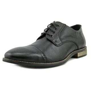 Nunn Bush Holt Cap Toe  W Round Toe Leather  Oxford