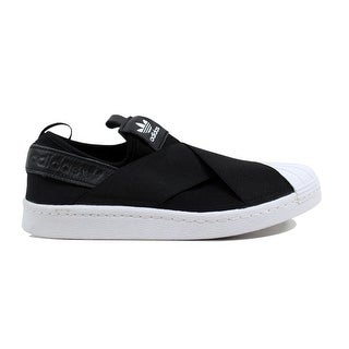 Adidas Women's Superstar Slip On W Black/Black-White S81337