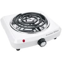 Proctor Silex 34103 Tabletop Burner, White
