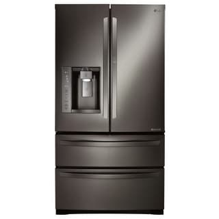 LG LMXS27676 36 Inch Wide 27 Cu. Ft. Energy Star French Door Refrigerator with D