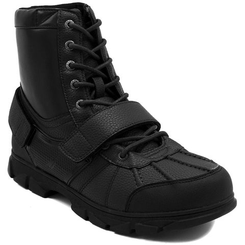 Nautica Men's Kressler Lace Up Adjustable Strap Winter Snow Boots Insulated W... - 9