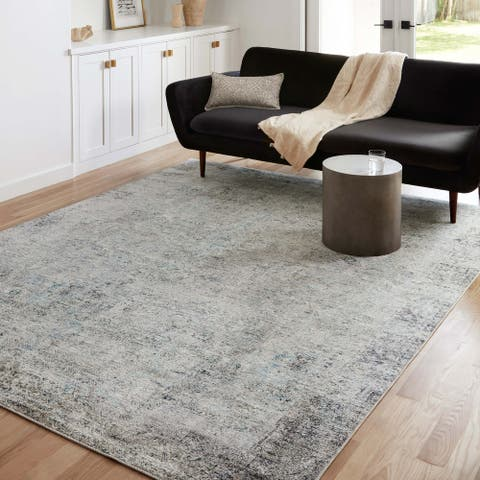 Alexander Home Alpine Vintage Abstract Transitional Area Rug