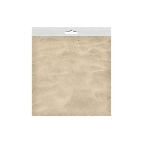 P-0450e paper house paper 12x12 beach sand