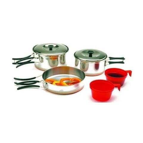 Chinook Ridgeline Stainless Steel Duo Cookset w/ Copper Bottom