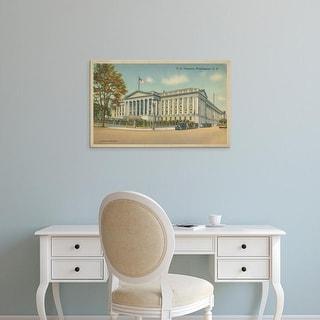 Easy Art Prints Unknown's 'Treasury Building, Washington, D.C.' Premium Canvas Art