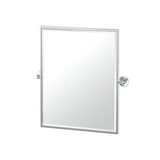 """Gatco 449FSM-CAFE Caf? 25"""" x 20-1/2"""" Rectangular Metal Framed Bevel Mirror"""