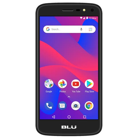 BLU C5 2018 C014U 8GB Unlocked GSM Dual-SIM Phone - Black (Certified Refurbished)