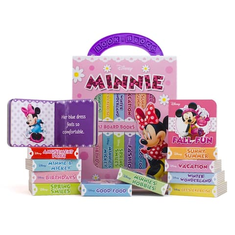 My First Library Minnie Mouse 12Bk