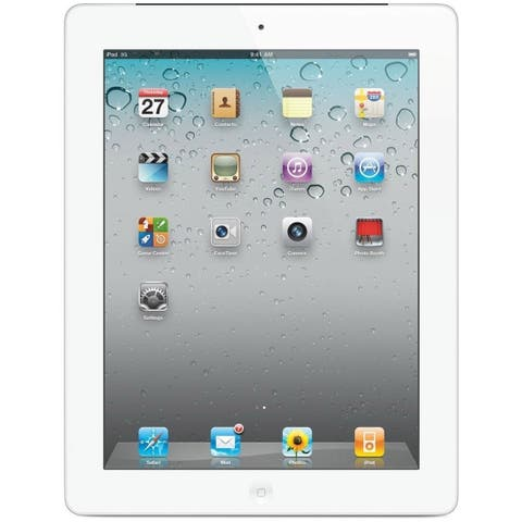 Apple iPad 2 MC989LL/A (16GB, Wi-Fi, White) (Refurbished)