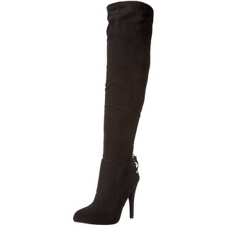 Nina Womens Keely Pointed Toe Knee High Fashion Boots Fashion Boots