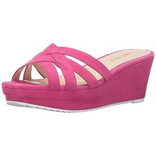 Nine West Womens Caserta Wedge Sandals Cork