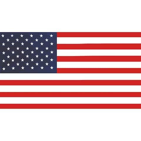 American Flag 30x60 Brazilian Velour Beach Towel