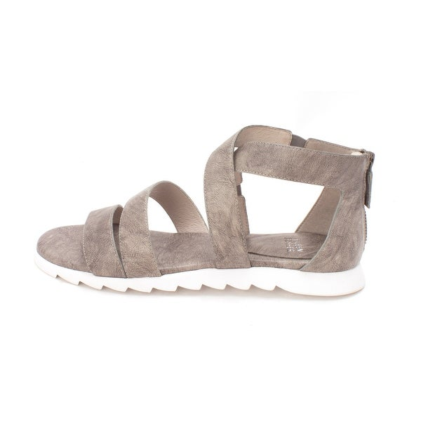 Eileen Fisher Womens EILEEN Open Toe Casual Gladiator Sandals