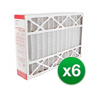 Replacement Pleated Air Filter for for Honeywell 12.5x20x5 MERV 11 (6-Pack)