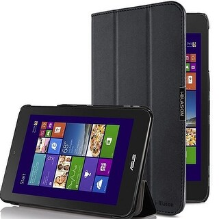 i-Blason-Asus VivoTab Note 8 Case-i-Folio Slim Hard Shell Stand Cover-Black