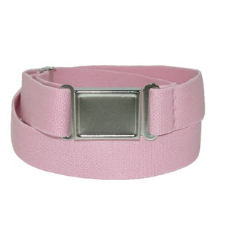 CTM® Elastic Belt with Magnetic Buckle (Option: light pink)