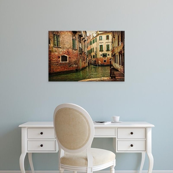 Easy Art Prints Danny Head's 'Venetian Canals V' Premium Canvas Art
