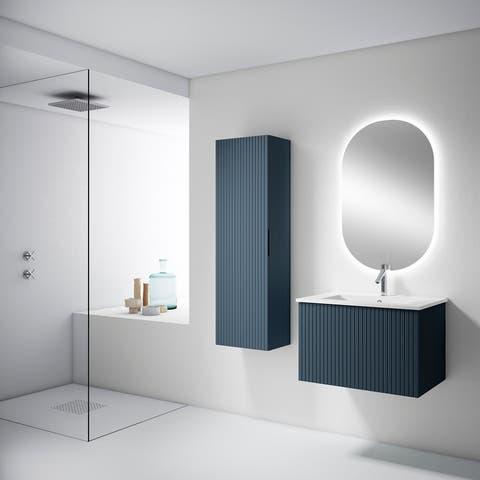 "Lucena Bath 24"" Bari Vanity With Ceramic Sink"