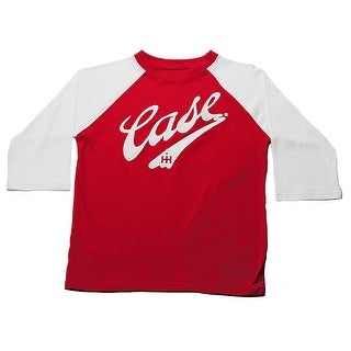 Case IH Little Boy's 3/4 Sleeve Embroidered Baseball Shirt