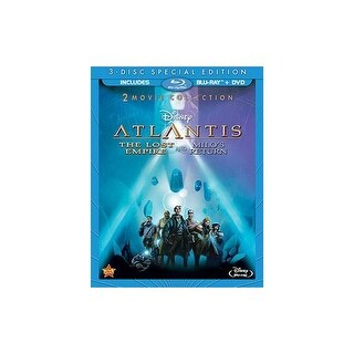 ATLANTIS-LOST EMPIRE/MILOS RETURN 2-MOVIE COLL (BLU-RAY/DVD-2/WS)