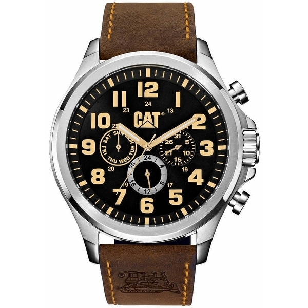 Caterpillar Mens Operator Black Sport Watch