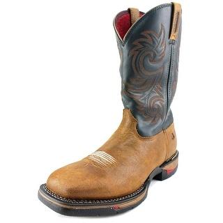 Rocky Long Range WP P Round Toe Leather Western Boot