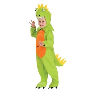 Talking Plush Dinosaur Child Costume (2 options available)