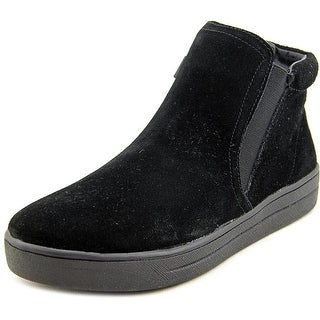 Easy Spirit Tiramisu Women Round Toe Suede Black Sneakers