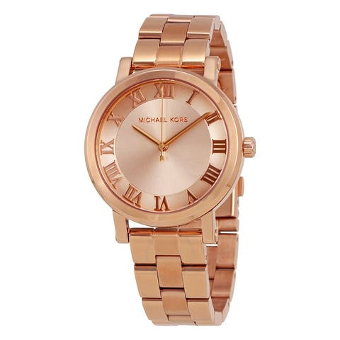 Norie Rose Dial MK3561 Ladies Watch - One Size