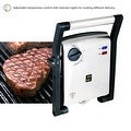 ZZ SM312 Gourmet Health and Contact Grill Panini Press and Sandwich Maker with Large Cooking Surface - Thumbnail 6