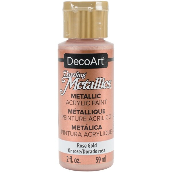 Dazzling Metallics Acrylic Paint 2oz-Rose Gold