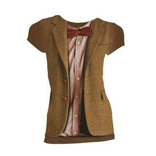 Doctor Who Classic Womens T-Shirt 11Th Doctor Costume