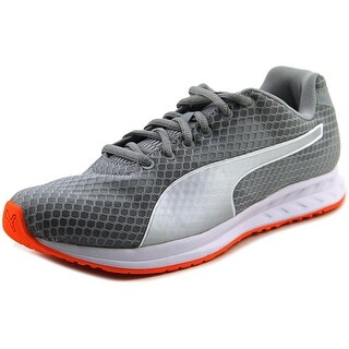 Puma Burst Round Toe Canvas Running Shoe
