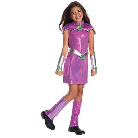 DC Superhero DLX Starfire Child Costume
