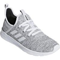 adidas Women's Cloudfoam Pure Sneaker FTWR White/FTWR White/Core Black Mesh
