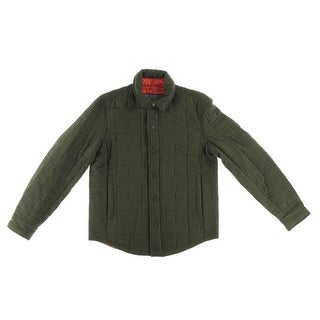 Tommy Hilfiger Mens Wool Blend Quilted Jacket - L
