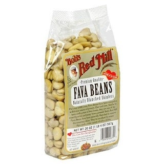 Bob S Red Mill Fava Beans 20 Oz -Pack of 4