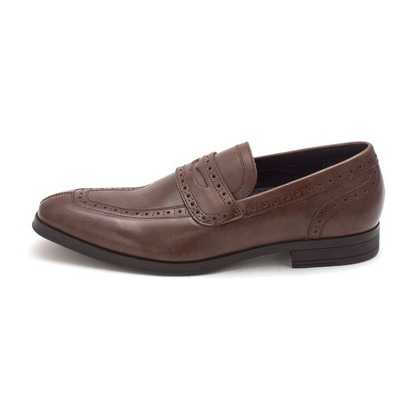 Cole Haan Mens Montgomery Penny Closed Toe Penny Loafer - 8.5