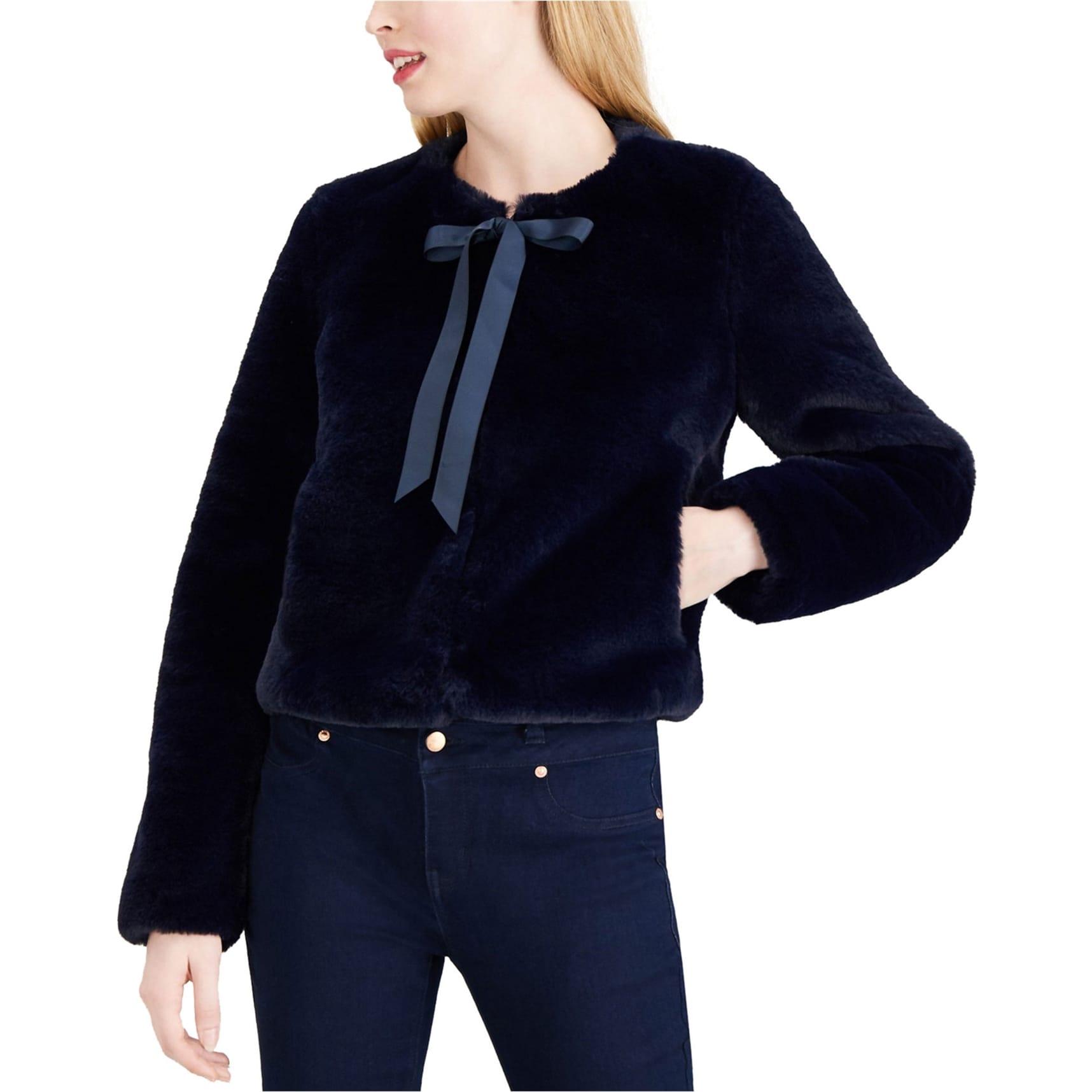 Maison Jules Womens Tie Sleeve Trench Coat