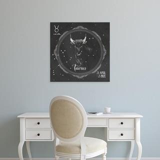 Easy Art Prints Sara Zieve Miller's 'Night Sky Taurus' Premium Canvas Art