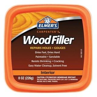 Elmer's E848D12 Carpenter's Wood Filler 8 Oz.