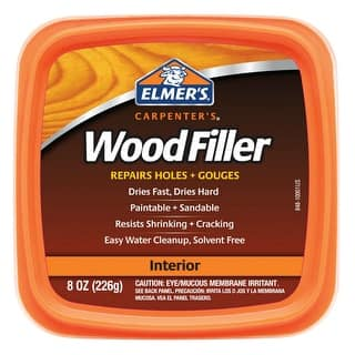 Elmer's E848D12 Carpenter's Wood Filler 8 Oz.|https://ak1.ostkcdn.com/images/products/is/images/direct/7dc780f0488ee9b25eb5f857c36e2d1c196dede2/Elmer%27s-E848D12-Carpenter%27s-Wood-Filler-8-Oz..jpg?impolicy=medium