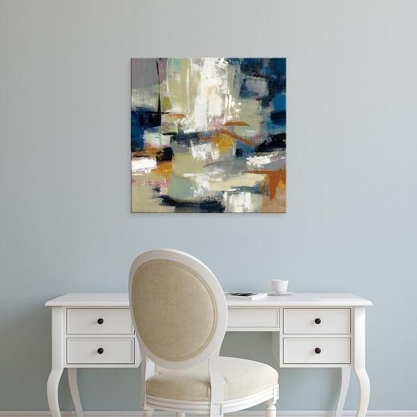 Easy Art Prints Silvia Vassileva's 'Full Moon II with White' Premium Canvas Art