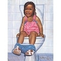''I'm a Big Girl Now'' by Hulis Mavruk African American Art Print (16 x 12 in.) - Thumbnail 0