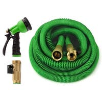 ALL NEW 2017 Expandable Garden Hose Set 75 Feet