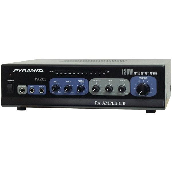 PYRAMID PA205 Amp with Microphone Input (120 Watt)