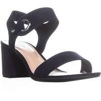 B35 Birdie2 Block Heel Slingback Sandals, Navy